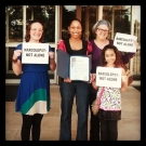 celebrating-outside-city-hall-after-mayor-of-austin-signs-narcolepsy-awareness-day-proclamation