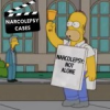 Narcolepsy Epidemic in Hollywood – Homer Simpson Latest Victim