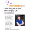 Speaking at Narcolepsy UK Conference 2019!