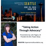 Seattle! Speaking Sleep Advocacy and Narcolepsy Awareness