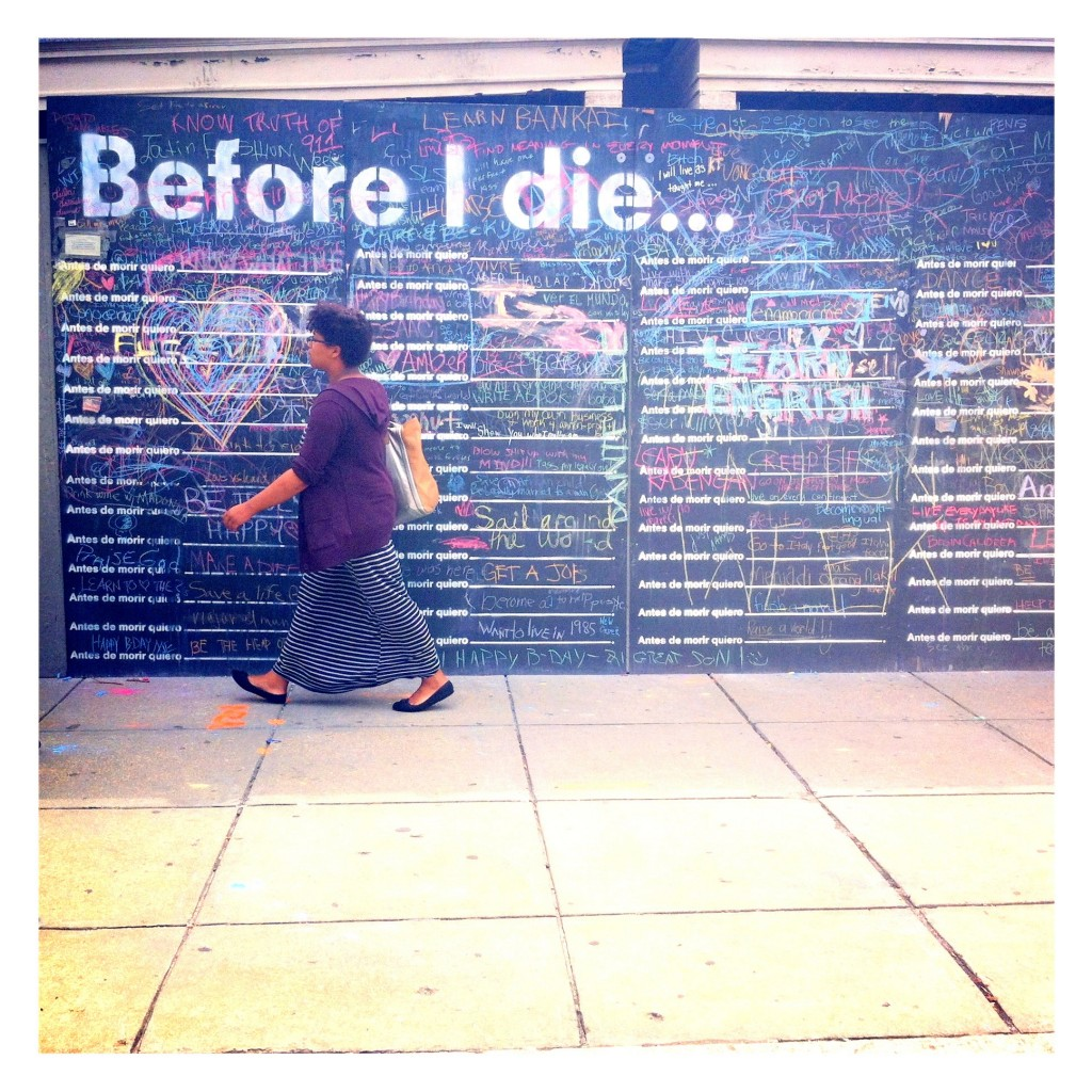 before I die 1024x1024 Before I Die...
