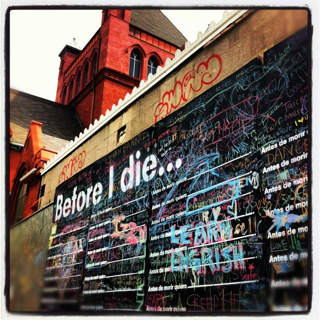 before I die wall WASHINGTON DC 1024x1024 Before I Die...