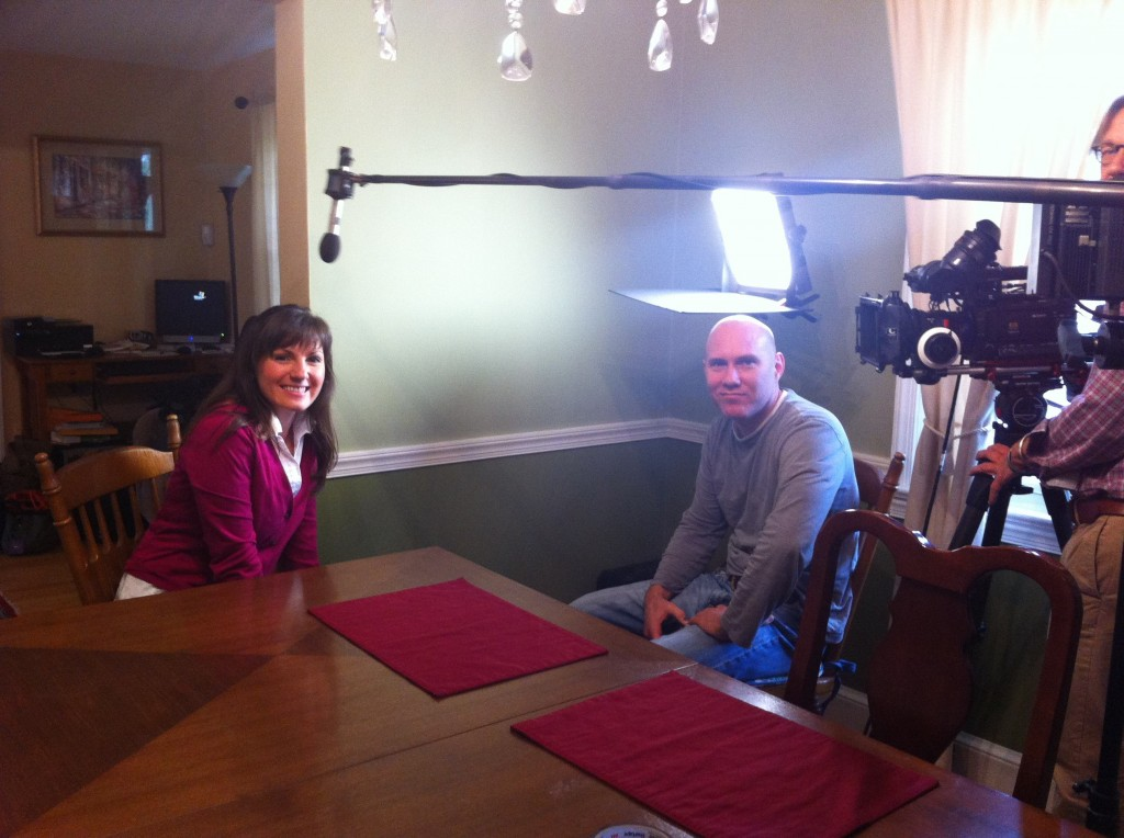 narcolepsy discovery channel filming julie flygare 1024x764 Narcolepsy on Discovery Channel Featuring Julie Flygare