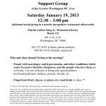 PWN Support Group 2013-01 January 19 Meeting Flier- MLK Jr JPEG