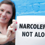 Julie Flygare Narcolepsy Not Alone Campaign Title