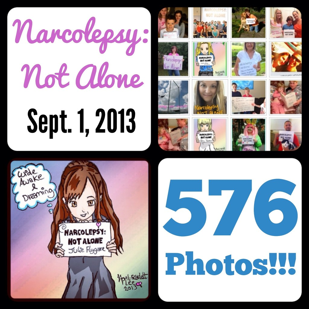 image 1024x1024 NARCOLEPSY: NOT ALONE Surpasses 500 Photo Goal!!!