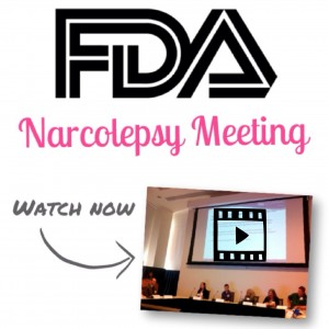 FDA NARCOLEPSY MEETING WATCH NOW VIDEO