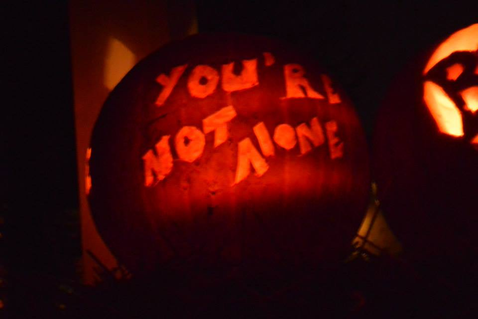 not alone pumpkin