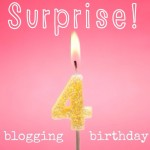 surprise blogging birthday