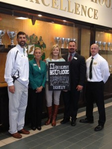 Danielle with Buford High School Admin, GA