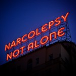 Narcolepsy Not Alone bright lights
