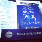 julie flygare wide awake and dreaming narcolepsy memoir auhtor speaker toastwriters toastmasters