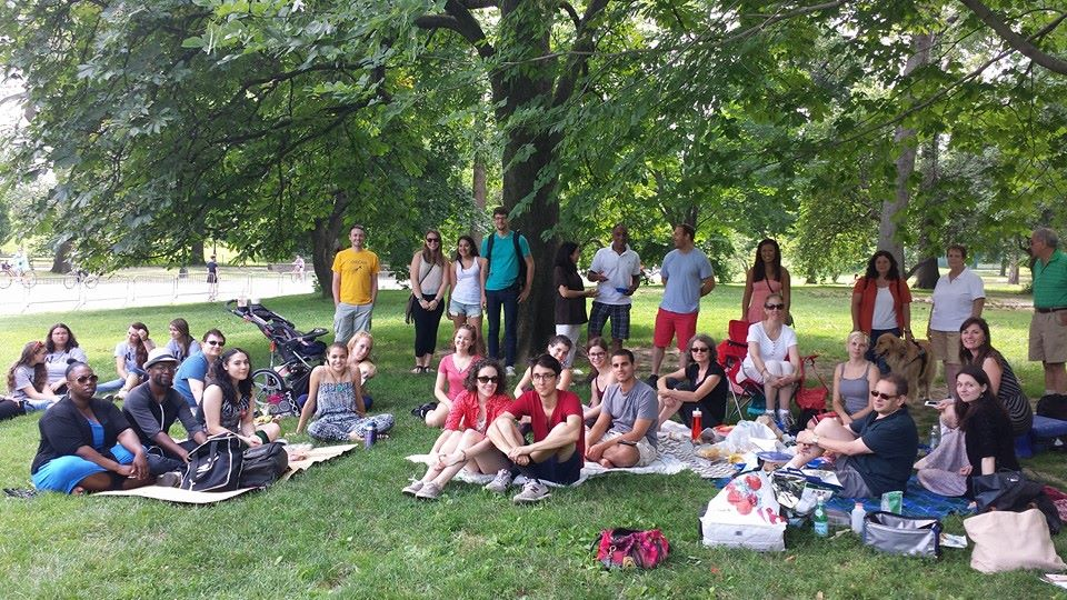 group picnic photo