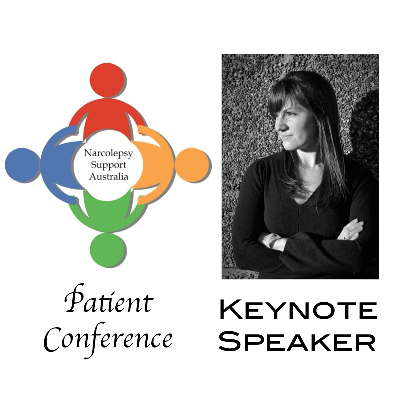 Narcolepsy Support Australia Patient Conference 2015 Julie Flygare Keynote Speaker