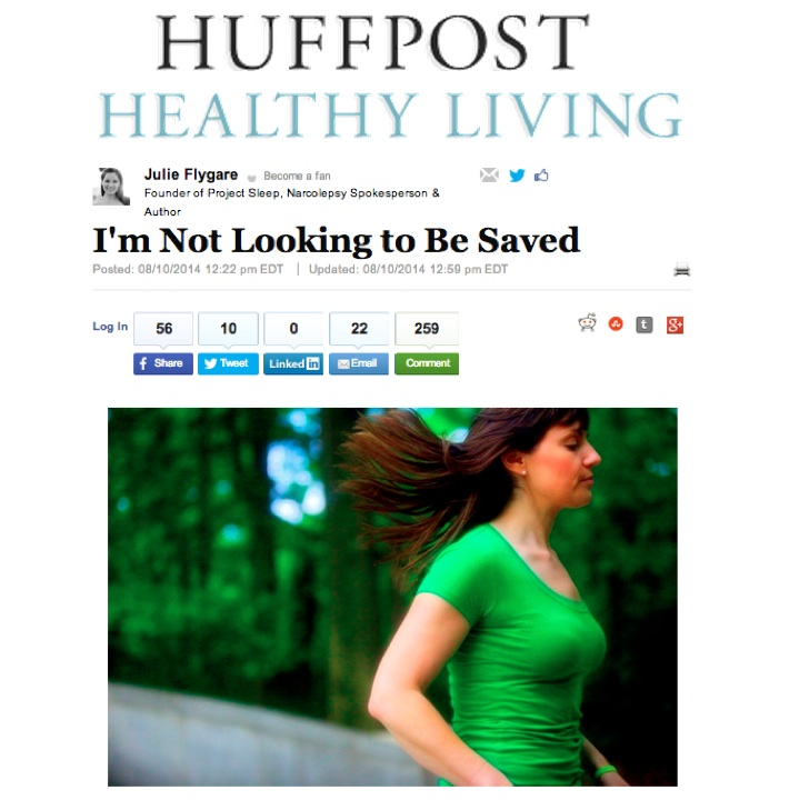 huffpost healthy living narcolepsy julie flygare i'm not looking to be saved from narcolepsy author project sleep