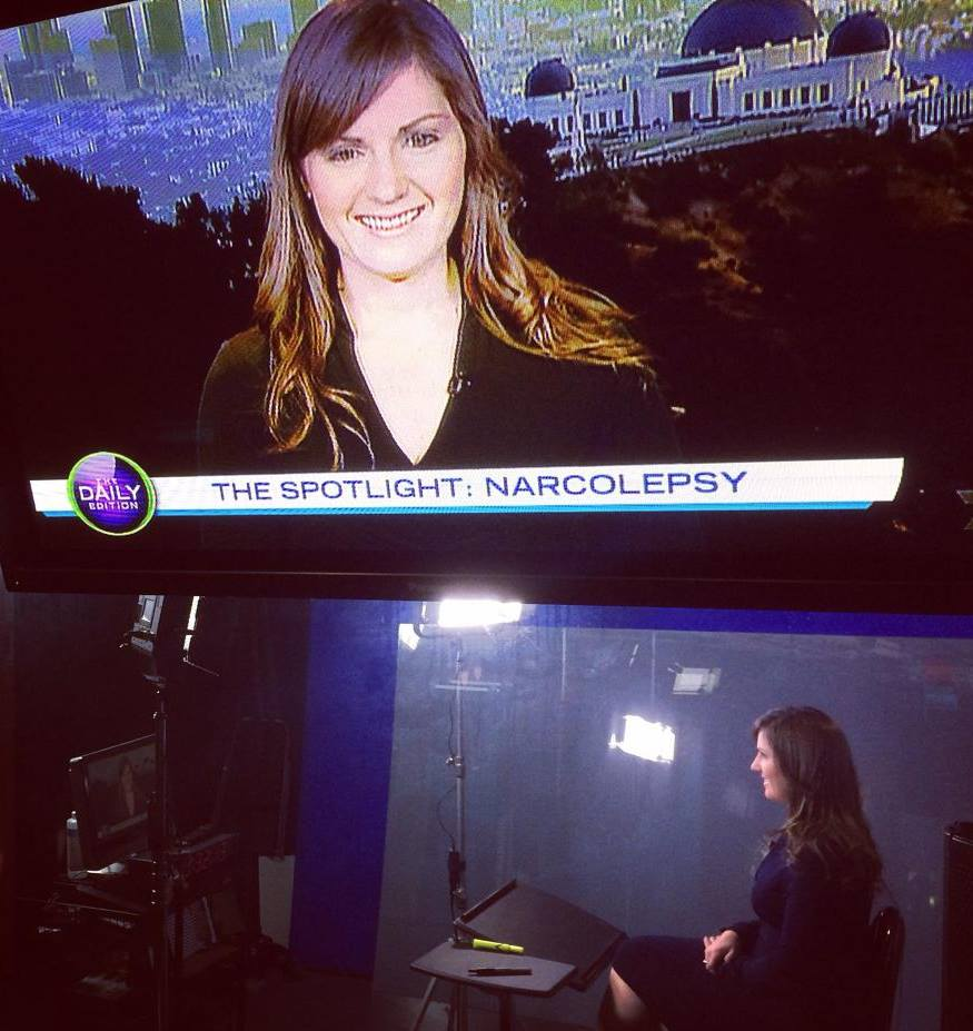 narcolepsy tv live the daily edition julie flygare narcolepsy advocate awareness spokesperson author wide awake and dreaming 7