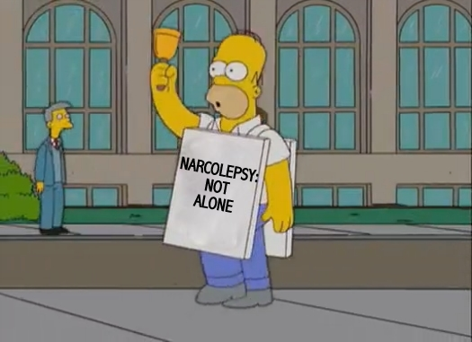 homer simpson narcolepsy not alone