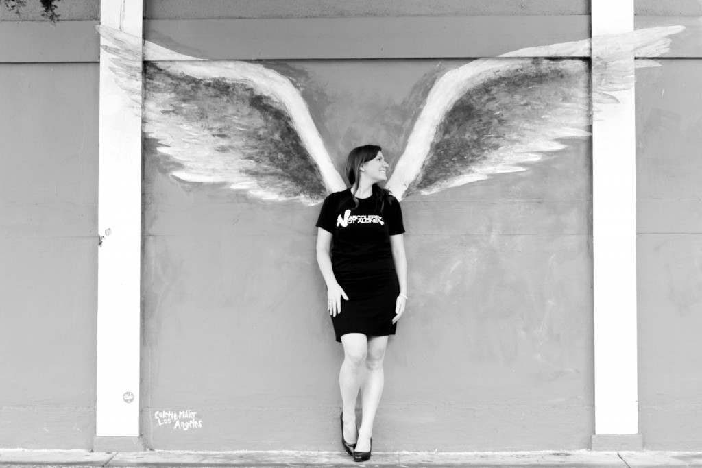 narcolepsy not alone julie flygare colette miller angel wings global wings project los angeles_BW F