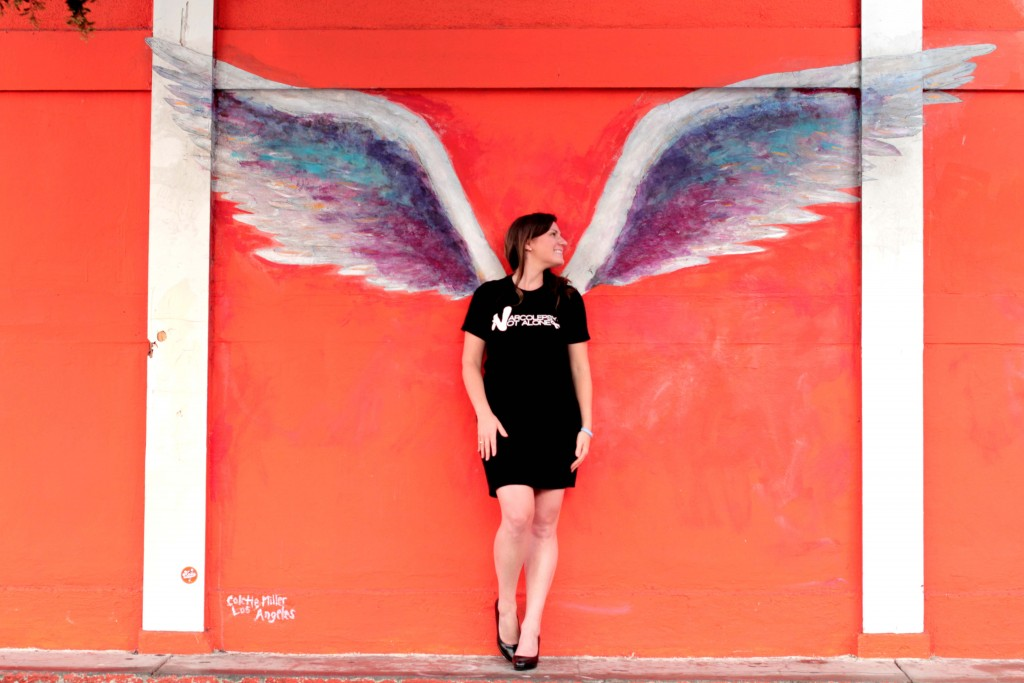 narcolepsy not alone julie flygare project sleep colette miller angel wings global wings project los angeles street art