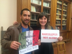 narcolepsy-not-alone-campaign-julie-flygare-in-italy