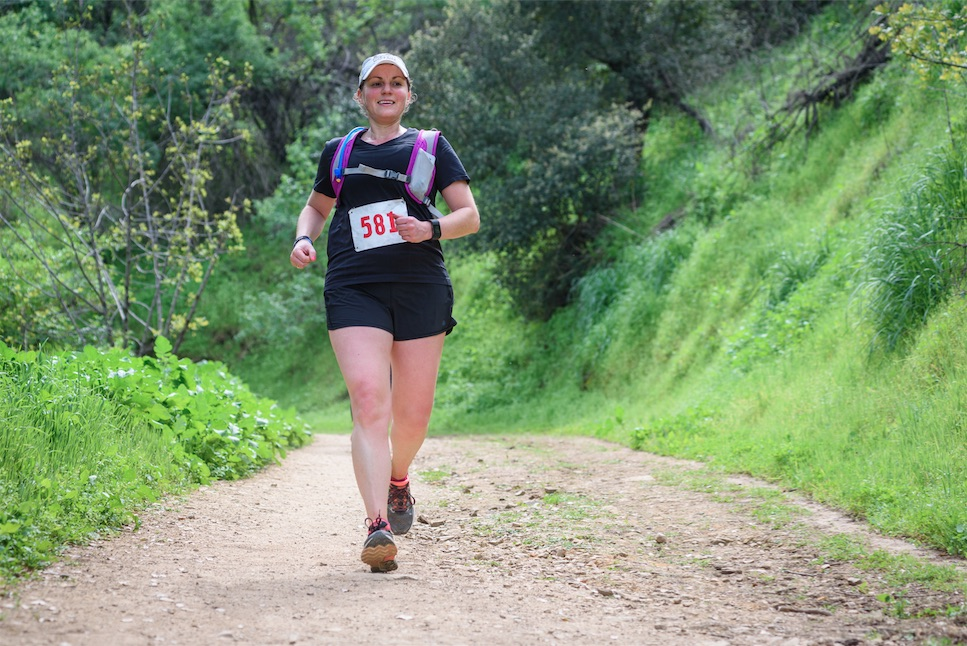 Julie Flygare Narcolepsy Griffith Park Trail Marathon 2017