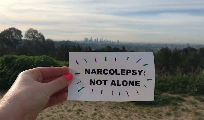 narcolepsy not alone juile flygare griffith park downtown los angeles