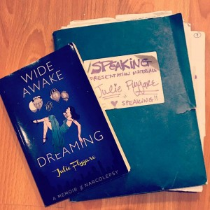 julie flygare narcolepsy wide awake and dreaming memoir speaker
